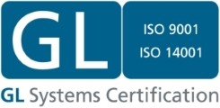 GL-Systems ISO 9001 und ISO 14001 Zertifikat