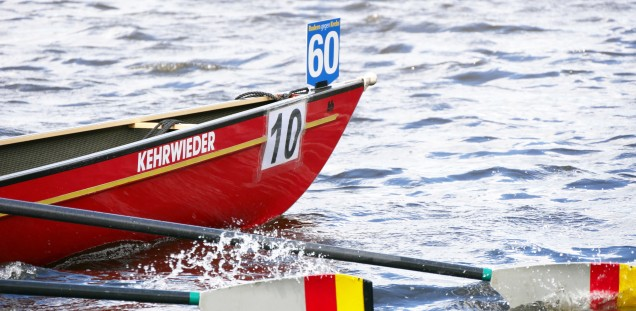 Rowing against Cancer is a charity event in favor of cancer patients - Photos: Ruder-Gesellschaft HANSA Hamburg and UCCH