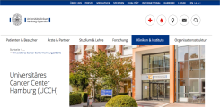 New web presence of the UCCH