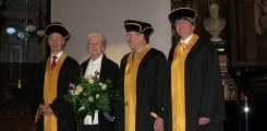 Honorary Doctoral Degree of Universität Heidelberg for Prof. Schachner