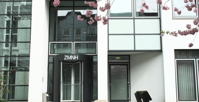 Entrance of the ZMNH building